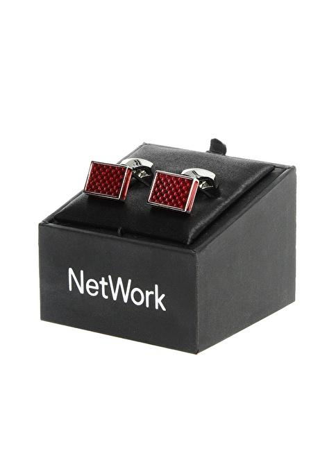 Network Kol Düğmesi Kırmızı